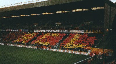 supporters ultras du rc lens les red tigers. Black Bedroom Furniture Sets. Home Design Ideas